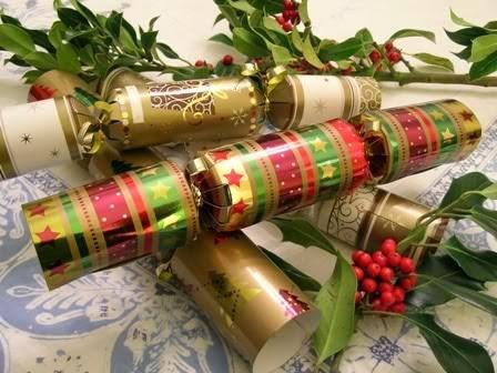 christmas crackers là gì