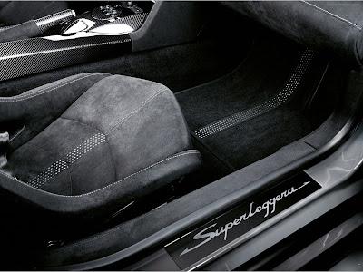 Lamborghini Gallardo Superleggera Interior.