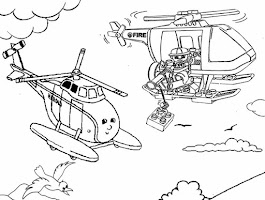 Lego City Coloring Pages Print