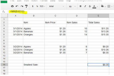 Google Sheet Top Functions and explanation how to use those