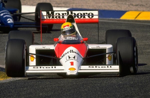 1989 Carro Ayrton Senna Fórmula 1 Mclaren
