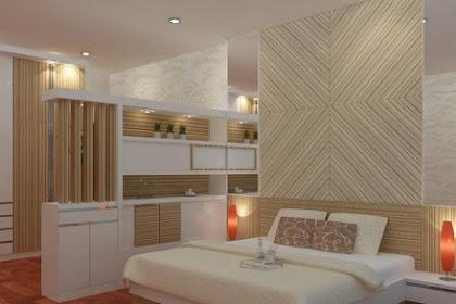 Jasa desain interior kamar tidur apartment