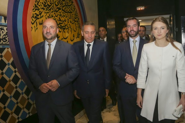 Princess Stephanie And Prince Guillaume In Morocco