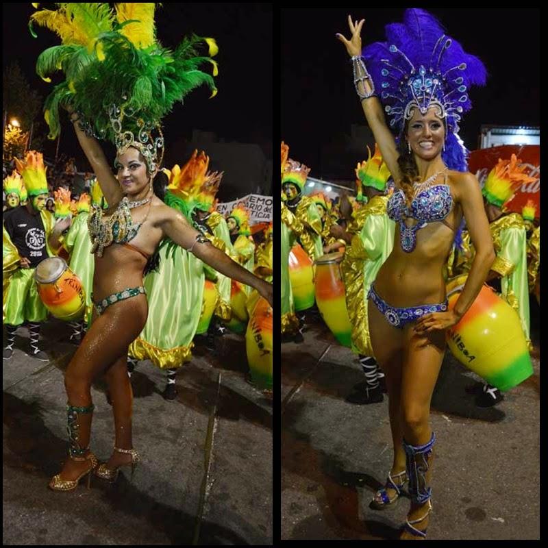Carnaval. Desfile de Llamadas. Triniboa.