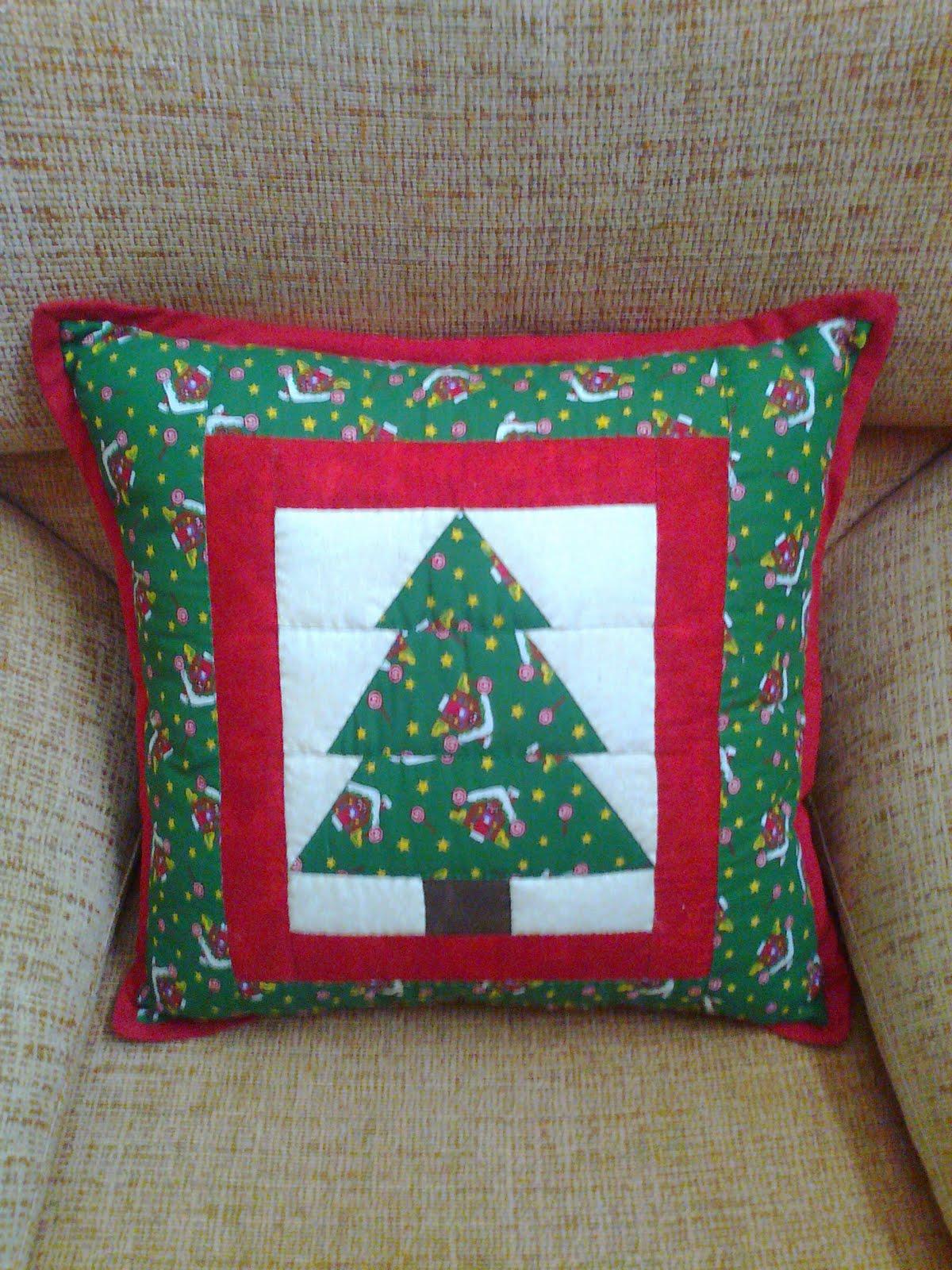Mari patchwork cojines de navidad ii - Cojines de navidad ...