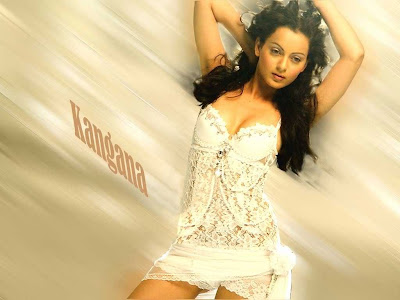 Kangna Ranaut Look Hot Wallpaper