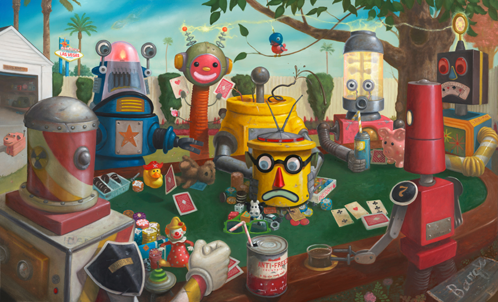 07-All-In-3-Geoffrey-Gersten-Surreal-and-Retro-Paintings-in-Modern-Times-www-designstack-co