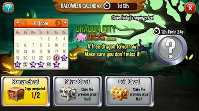 Calendário do Halloween - Novidade!