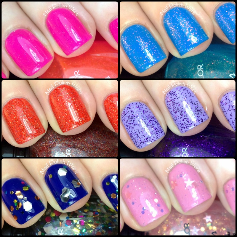 Nail Polish Wars: Kleancolor Spam Swatch & Review