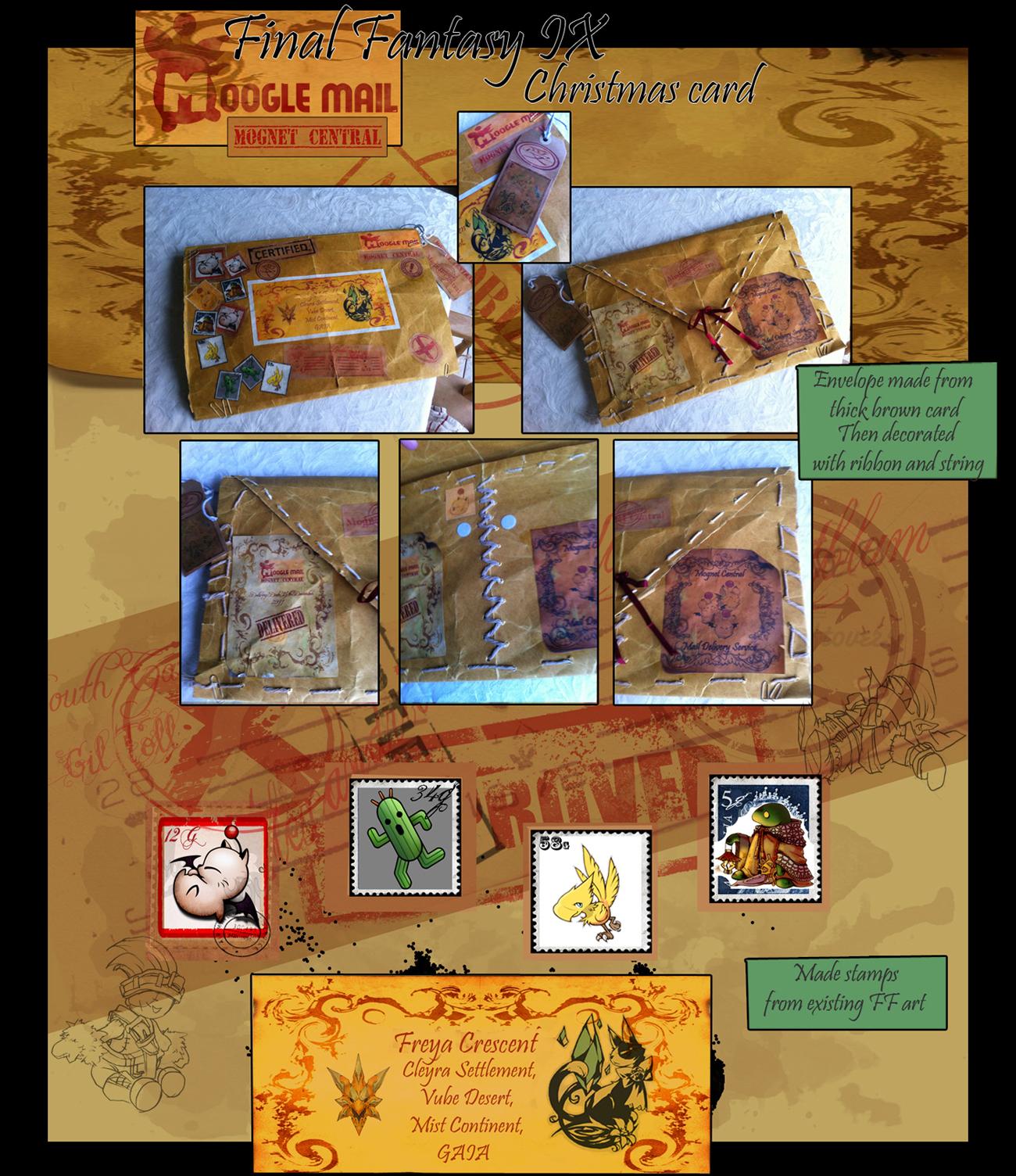 Neversummer Nights: Final Fantasy IX Christmas Card