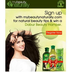 Free Dabur Beauty Hamper for First 1000 participants