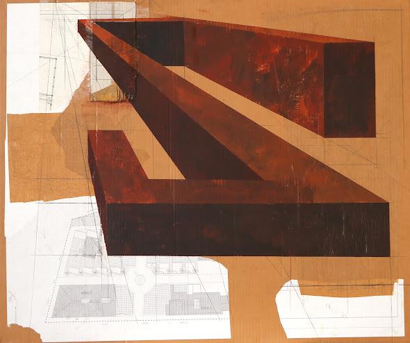 Estructura VI 86 x 110 cm 2011