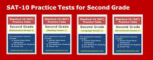 Click the image below to preview practice tests for 2G (math, reading, language, and environment).