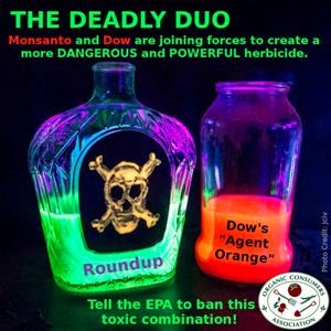 Tell the EPA: Stop Dow's Deadly Duo of Agent Orange and Roundup Herbicides