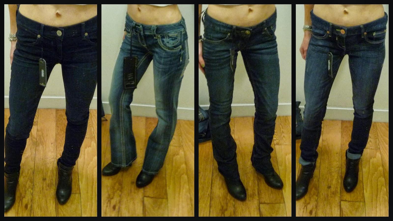 Express jeans, denim, Mia, Zelda, Stella, ReRock