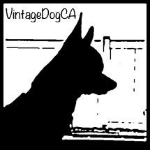 vintage dog ca