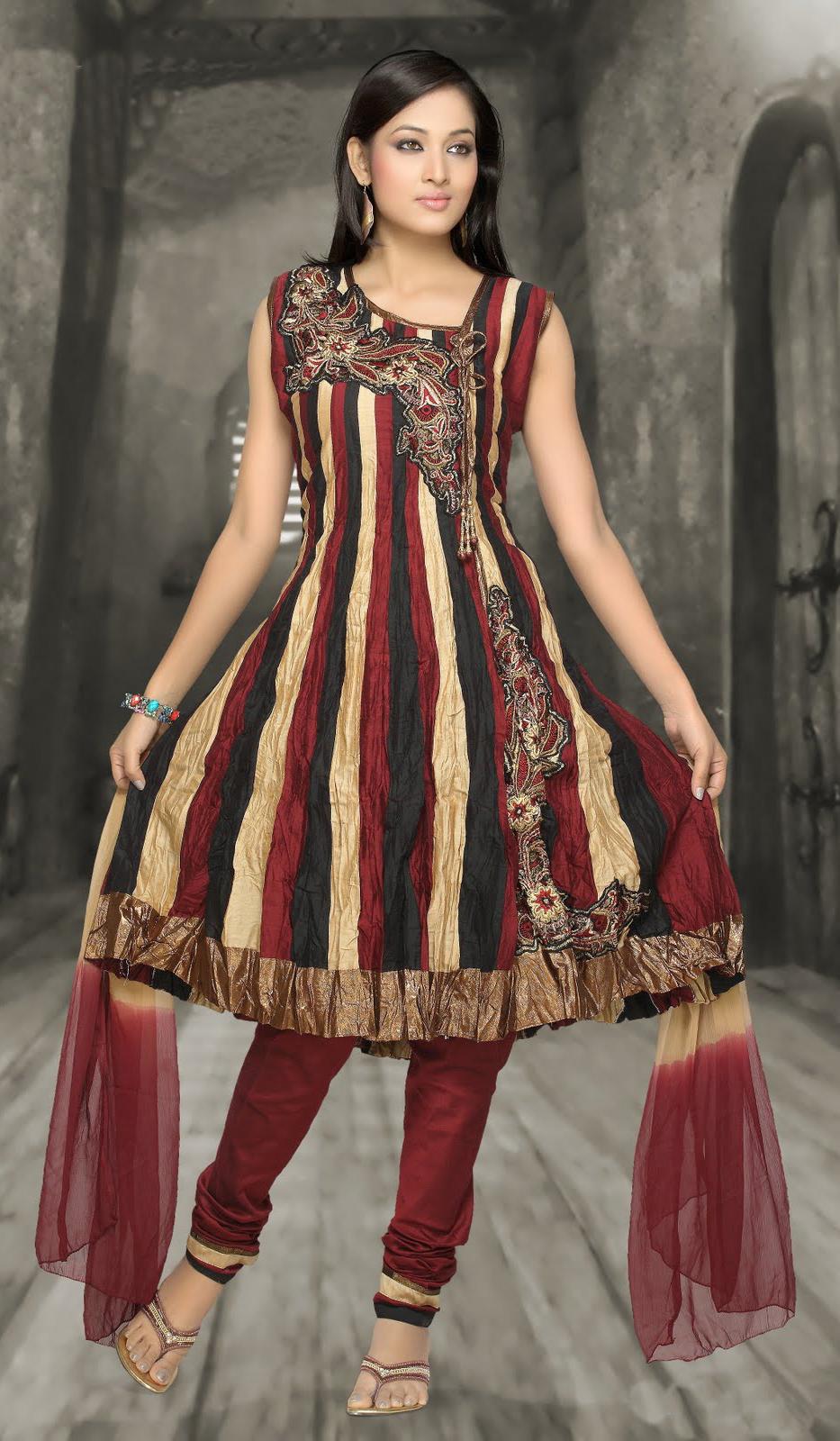 Perfect Best Indian Churidar Salwar Kameez Suits  Georgette Churidar Suits