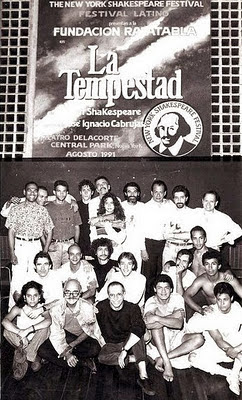 "Joseph Papp Public Theater/New York Shakespeare Festival Moving Image Collection: ""La Tempestad"""
