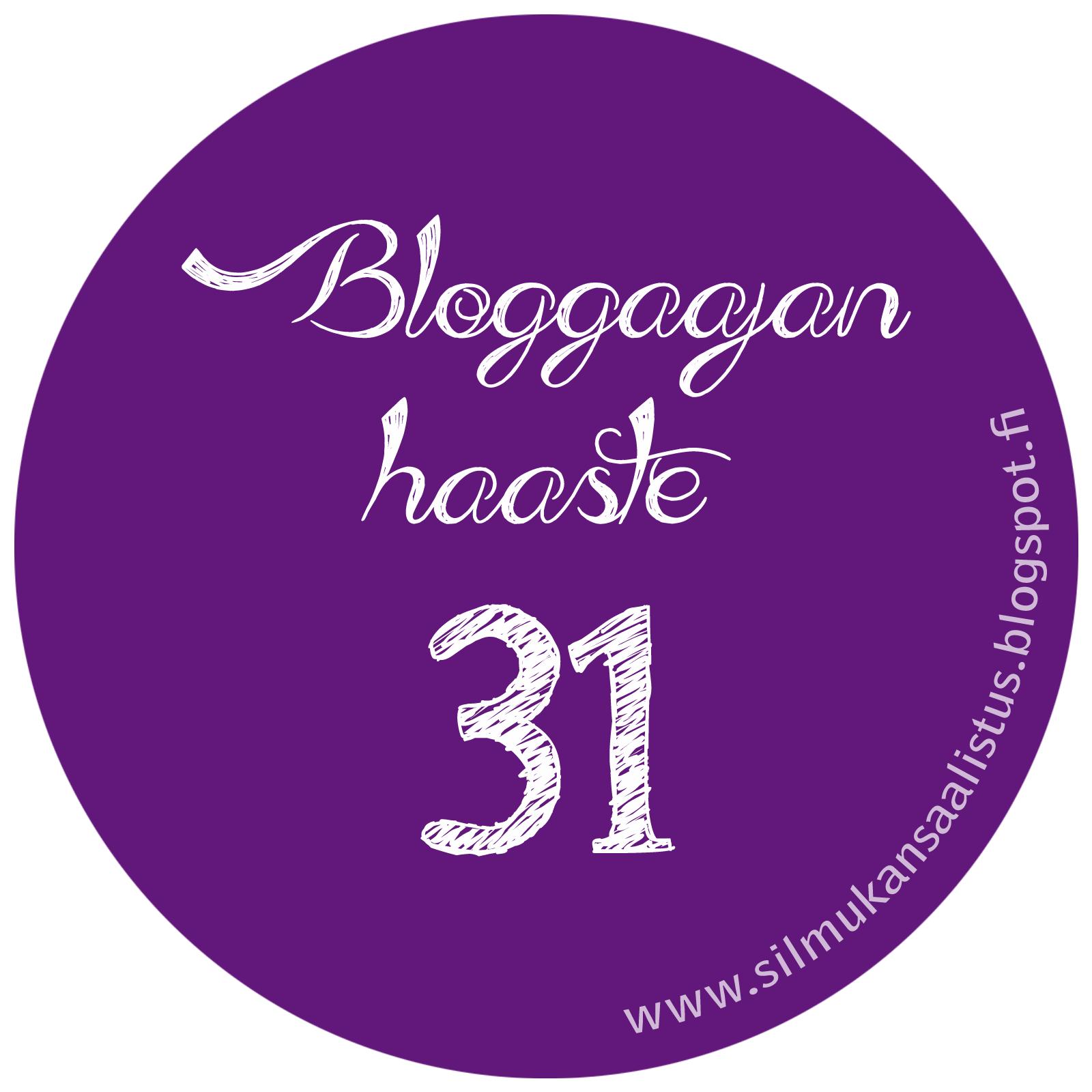 bloggaajan haaste