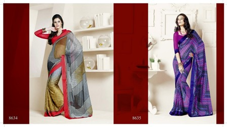North-Indian-Saree-Style