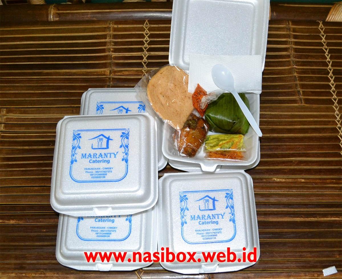 Nasi Box Daun Ciwidey