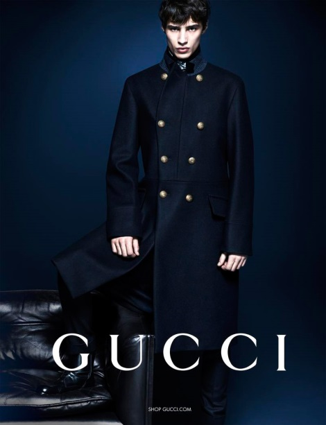 Adrien Sahores by Mert & Marcus for Gucci Menswear