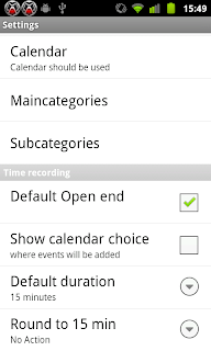 Timesheet App for Android