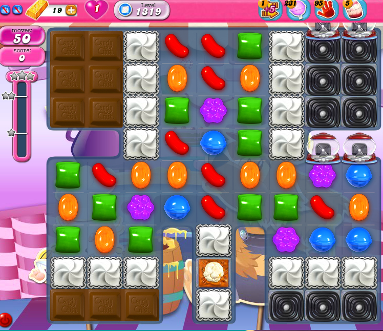 Candy Crush Saga 1319