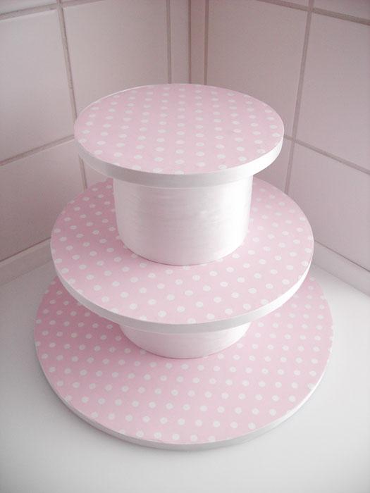 Подставка под торт сделать своими руками