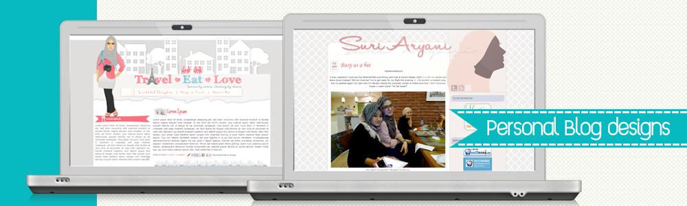 Malaysia Custom Blog Design