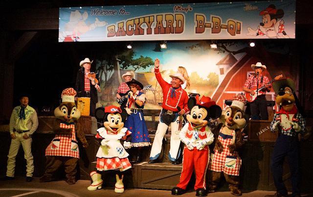Churrasco Mickey's BBQ na Disney em Orlando