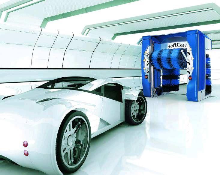 voiture du futur le lavage du futur plus colo et plus high tech. Black Bedroom Furniture Sets. Home Design Ideas