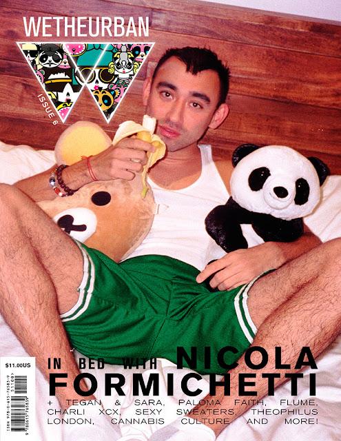 WeTheUrban Magazine #6 Cover with Nicola