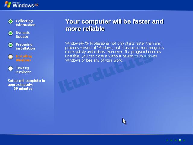 Windows xp professional Sp3 manual