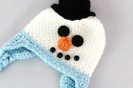 Crafts By Starlight Infant Snowman Hat