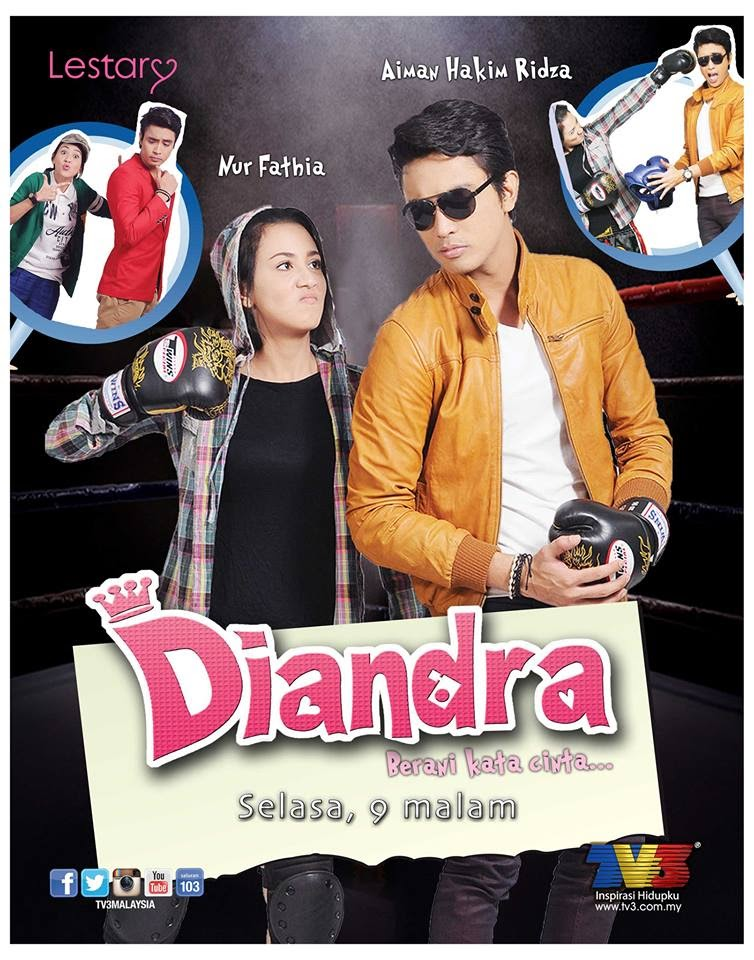 Drama, bersiri, baru, 2013, TV3, Slot, lestary, Diandra, Selasa, 9, malam, aiman, hakim, ridza, nur fathia