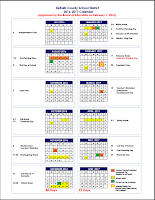 Approved 2016-17 Calendar