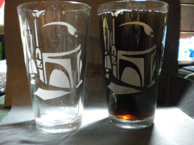 Boba Fett Glass