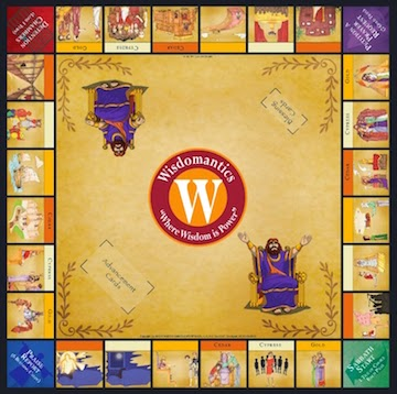 widomantics game board