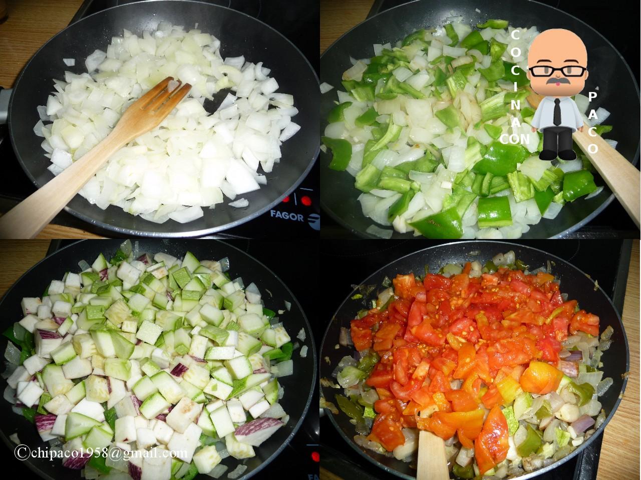 Cocina con paco pisto - Cocina con paco ...