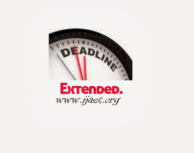engineering journal Deadline extended