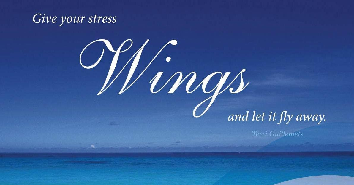 Anonymous ART of Revolution: Give your stress wings and