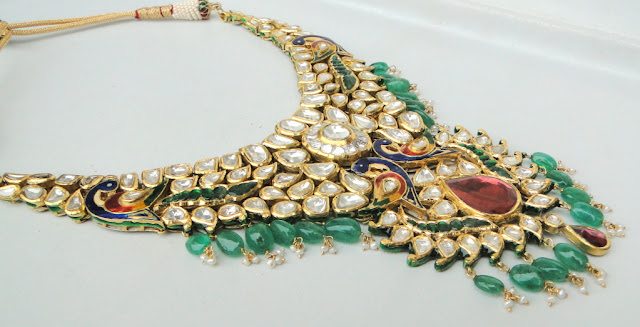gold kundan jewellery designs