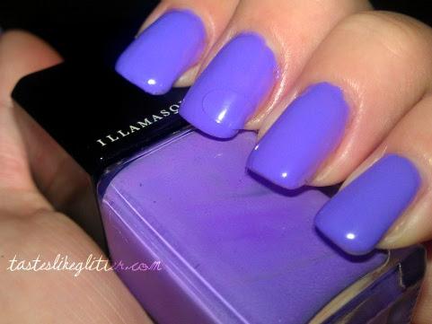 Lilac & Silver.