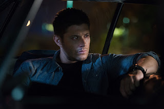 "Jensen Ackles as Dean Winchester in Supernatural 11x04 ""Baby"""