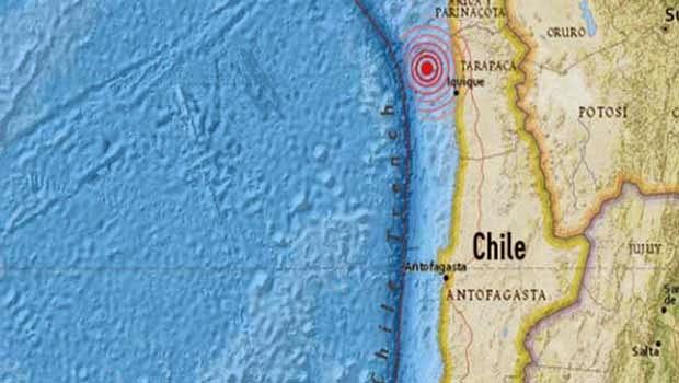 Terremoto de 6,0 grados sacude Chile, 19 de Junio 2014