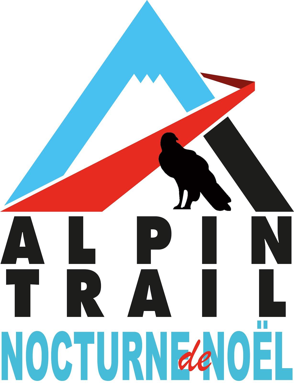 Alpin trail nocturne de Noël
