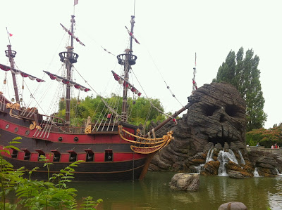 Pirates of the Caribbean at Disneyland Paris www.thebrighterwriter.blogspot.com