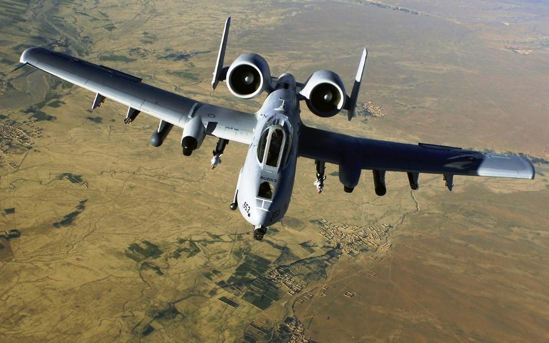 A-10 Thunderbolt aircraft wallpaper 2
