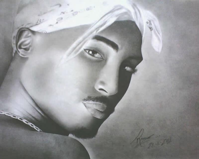 Homem (desenho em preto e branco)